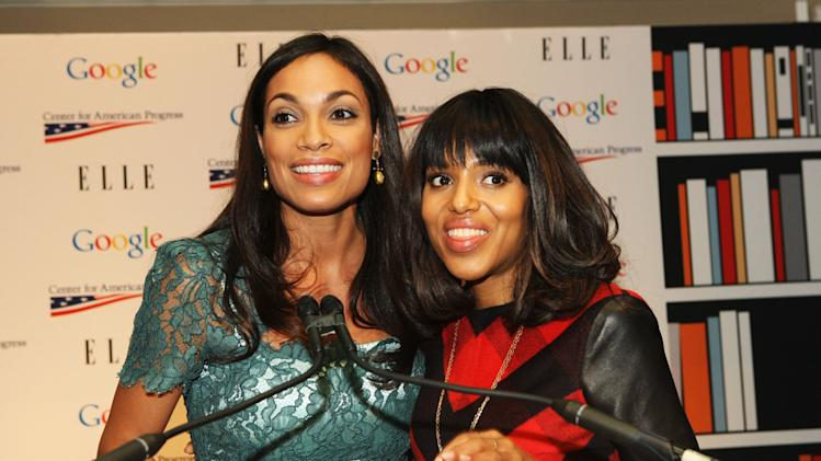 Rosario Dawson, Kerry Washington