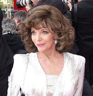 Joan Collins talks 'Happily Divorced' and Larry Hagman on 'The View'