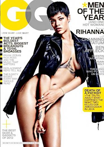 "PICTURE: Rihanna Poses Nude on GQ's ""Men of the Year"" Issue"