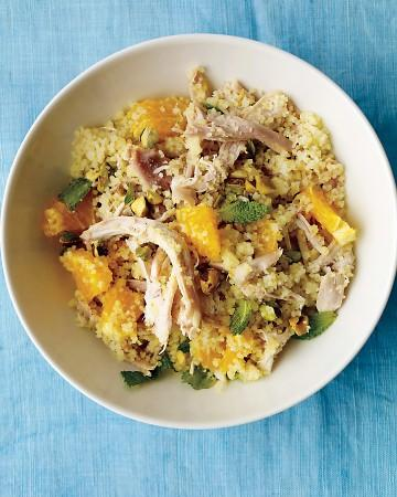 Chicken with Couscous and Orange