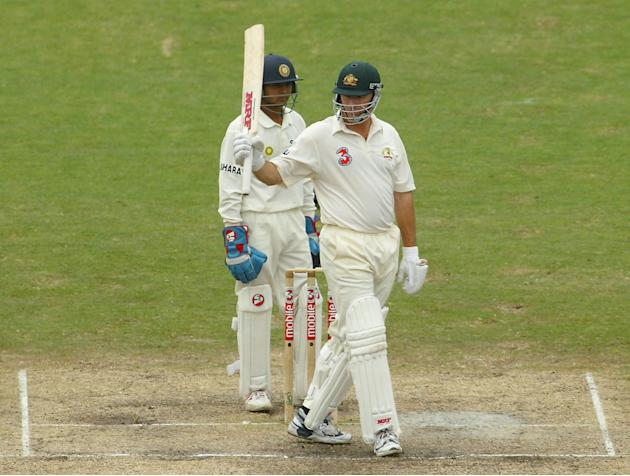 4th Test Australia v India Day Five