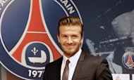 David Beckham Gets Warm Welcome In France