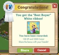 5 Ways Brands Gamify their Social Media Marketing image FarmVilleBestBuyerWhiteRibbon 300x276