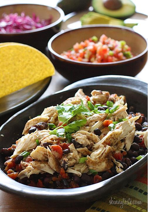 Chicken Black Bean Tacos