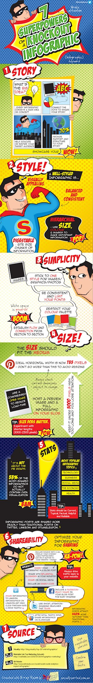 The 7 Key Elements to Creating Successful Infographics image 7 Priniciples of an Awesome Inforgraphic