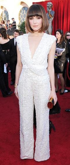 Rate Bridesmaids Star Rose Byrne's Embellished Jumpsuit