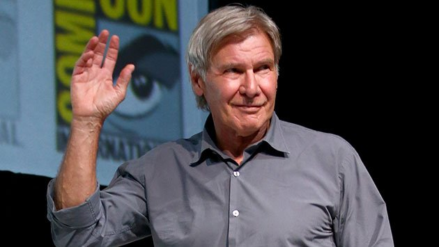 Harrison Ford at San Diego Comic-Con