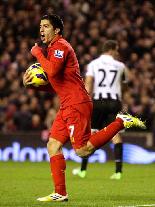 Luis Suarez has been in scintilating form for the Reds