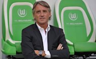 Manchester City manager Roberto Mancini, seen here on August 4, admits he is unhappy with the club's sporting director Brian Marwood after he failed to make the signings needed to improve the Premier League champions