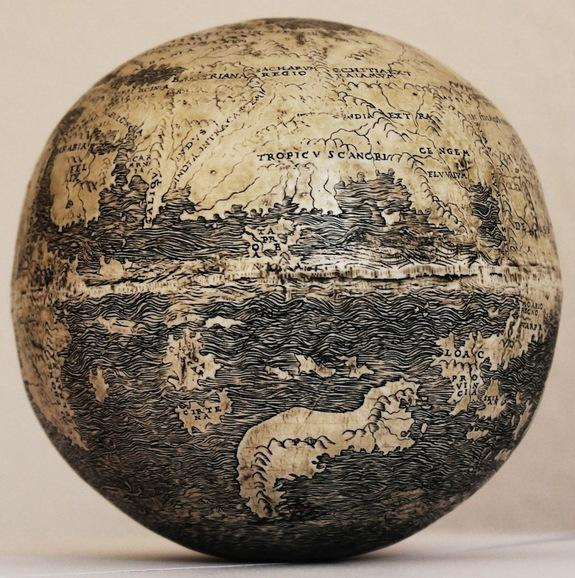 Oldest Globe to Show the Americas Discovered