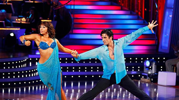 "Gilles Marini and Cheryl Burke perform the Rumba to ""Sexual Healing"" by Marvin Gaye on ""Dancing with the Stars."""