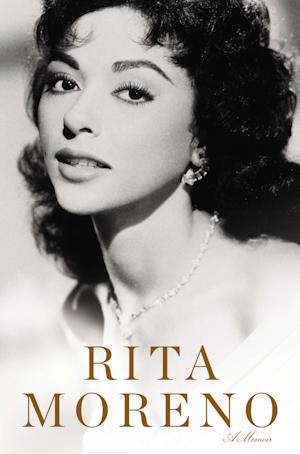This book cover image released by Celebra shows a self-titled memoir by actress Rita Moreno. (AP Photo/Celebra)