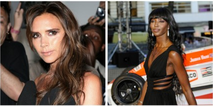 Victoria Beckham and Naomi Campbell