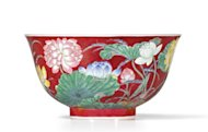 Chinese bowl fetches record price in Hong Kong