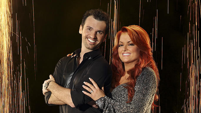"""Dancing with the Stars"" Season 16 TONY DOVOLANI, WYNONNA JUDD"