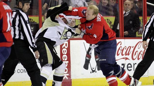 Ice Hockey - Capitals' Erskine suspended for three games
