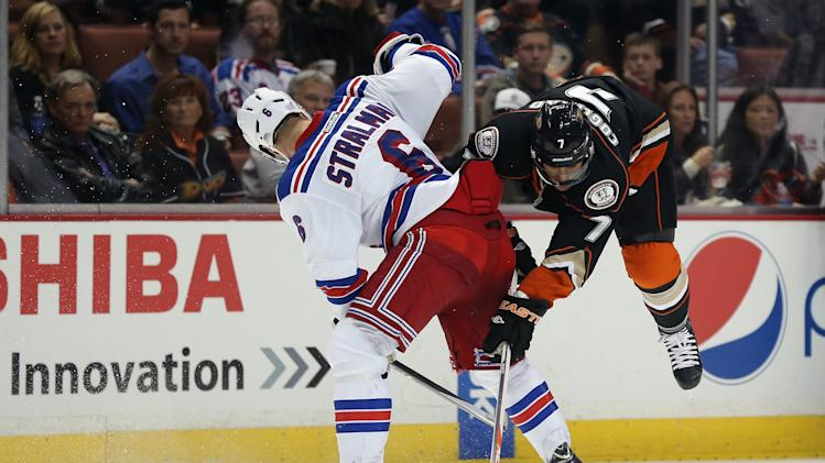 New York Rangers v Anaheim Ducks