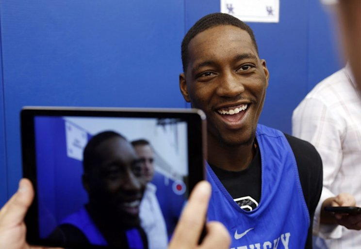 Bam Adebayo's toughness and physicality should solve one of Kentucky's biggest weaknesses from last season. (AP)