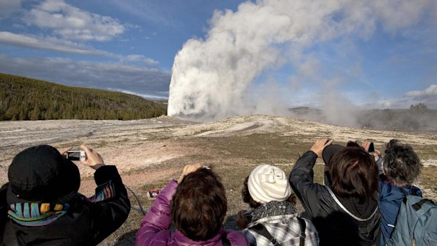 Scientists have discovered a new, deeper reservoir of magma beneath the Yellowstone supervolcano (AP)