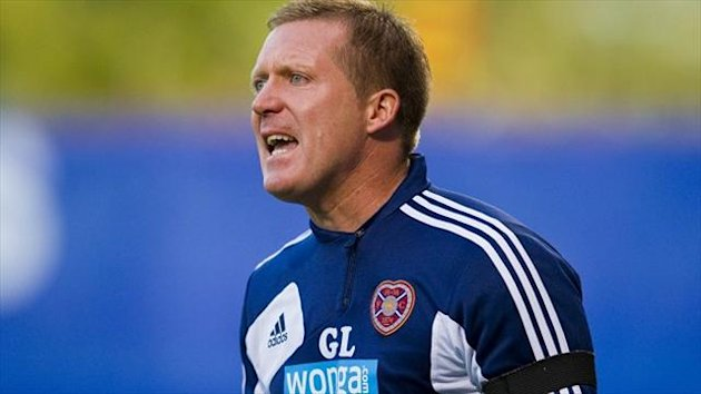 Hearts manager Gary Locke (PA Photos)