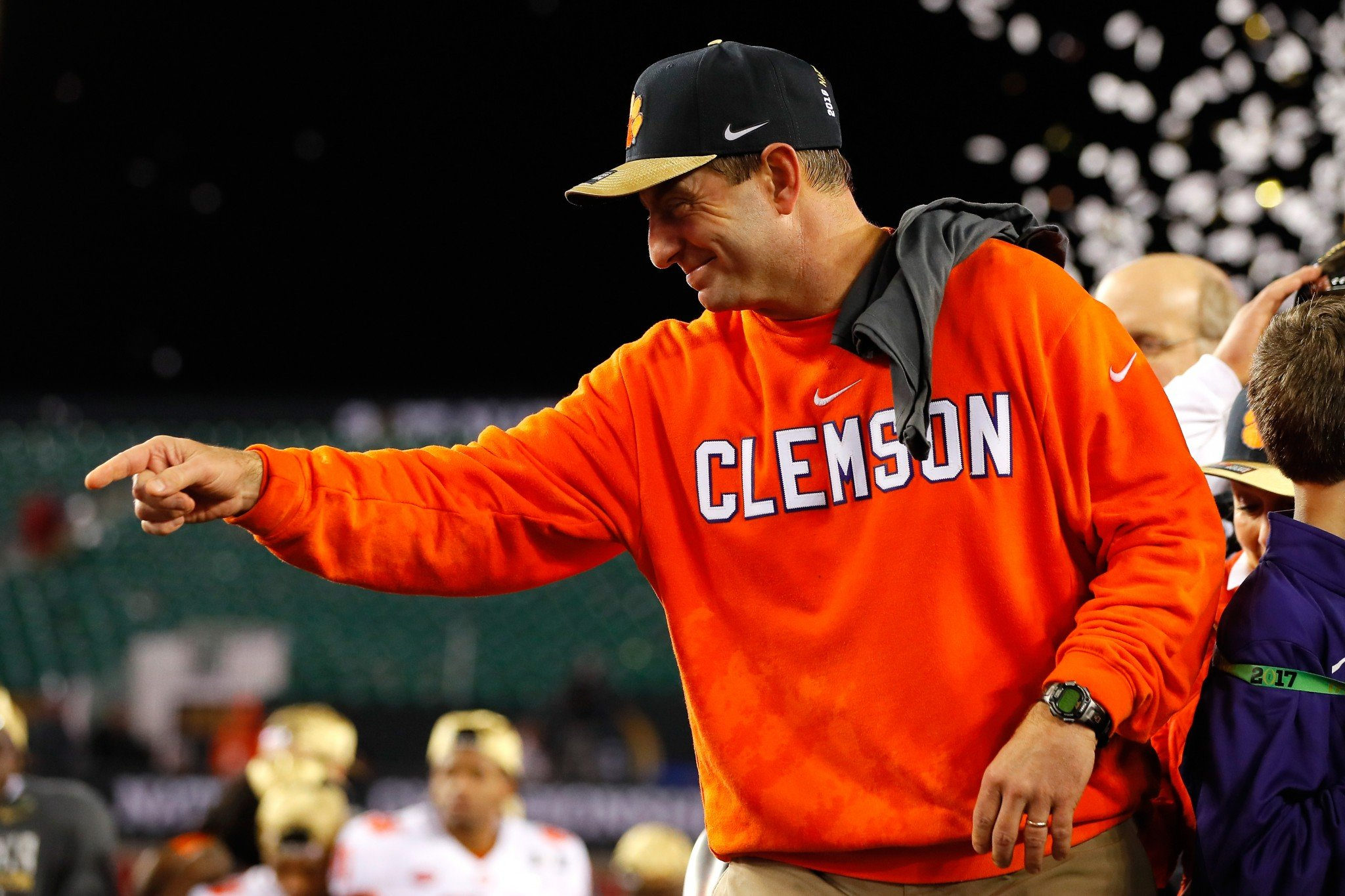 Don't expect Clemson to be heading across the Atlantic anytime soon. (Getty)