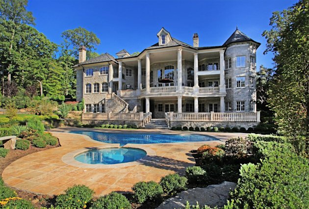 Here's another view of the priciest Yahoo! Homes listing in the priciest ZIP Code, 07620. It's $14,750,000, a newly built 21-room manor. Click to see ...