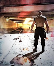 The Rock takes stand in Fast and Furious 7