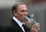 Zdenek Zeman at a match between Roma and Catania at Massimino Stadium earlier this month. Zeman's future as coach of AS Roma was placed in doubt Monday, two days after the Giallorossi dropped one place to seventh following a 3-3 draw with Bologna