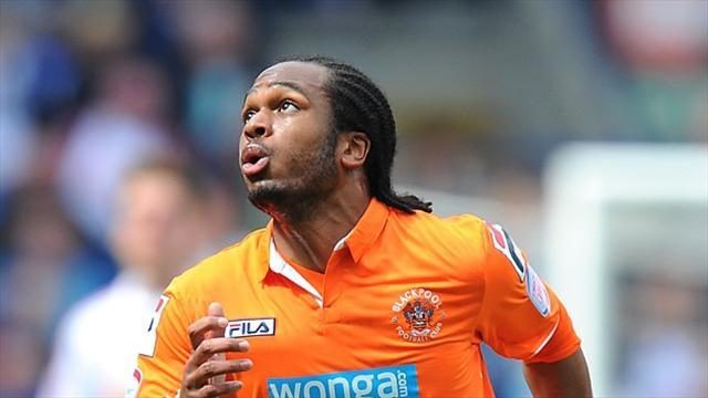 Football - Delfouneso back at Blackpool