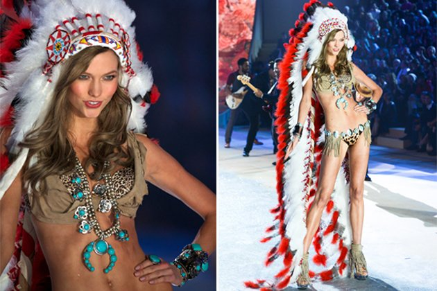 "Karlie Kloss: Das ""Victoria's Secret""-Model in dem umstrittennen Laufsteg-Look (Bilder: ddp images)"