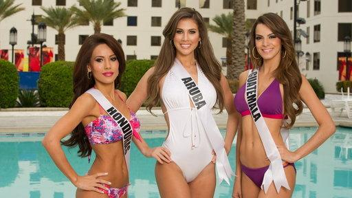 The 2012 Miss Universe Bikini Shoot