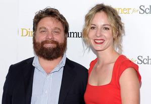Zach Galifianakis and Quinn Lundberg | Photo Credits: Michael Loccisano/Getty Images