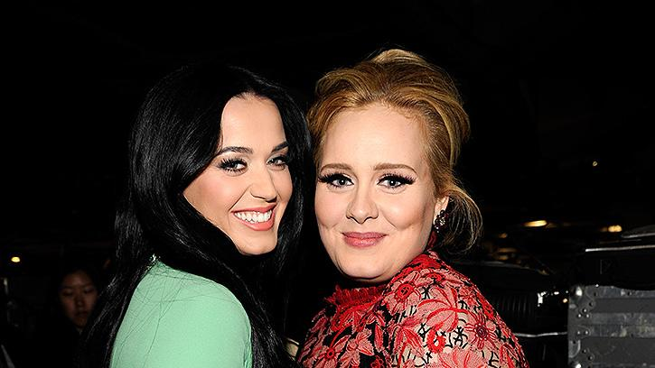 Katy Perry, Adele