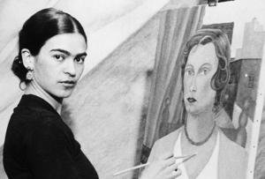 "Frida Kahlo is synonymous with her ""uni-brow"""