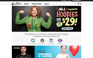 "Why ""Simple"" Websites Are Scientifically Better image threadless"