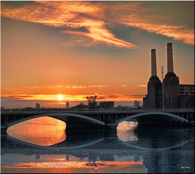 Battersea Power Station Sunrise ( Explore)