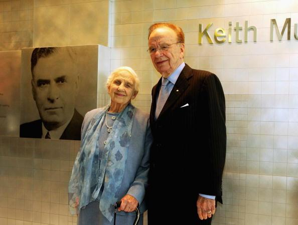 Rupert Murdoch's Mother Dies at 103
