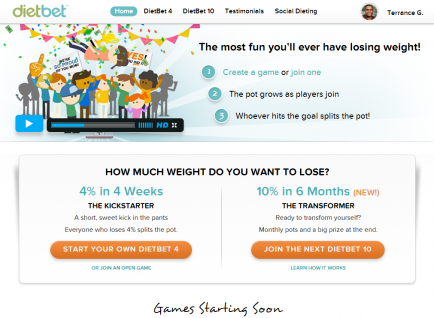 DietBet | Include others, lose weight, and get paid