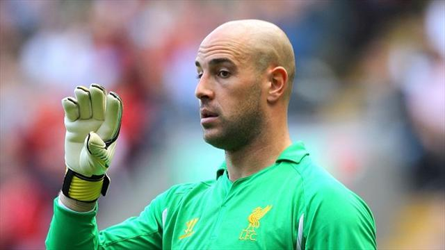 Premier League - Reina 'not angry' with Liverpool