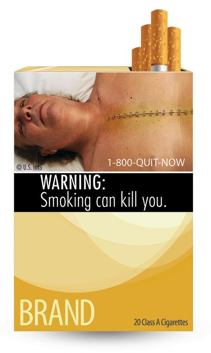"""Smoking can kill"""
