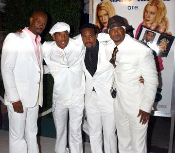 Premiere: Keenen Ivory Wayans, Marlon Wayans, Shawn Wayans and Damon Wayans at the Los Angeles premiere of Columbia Pictures' White Chicks - 6/16/2004