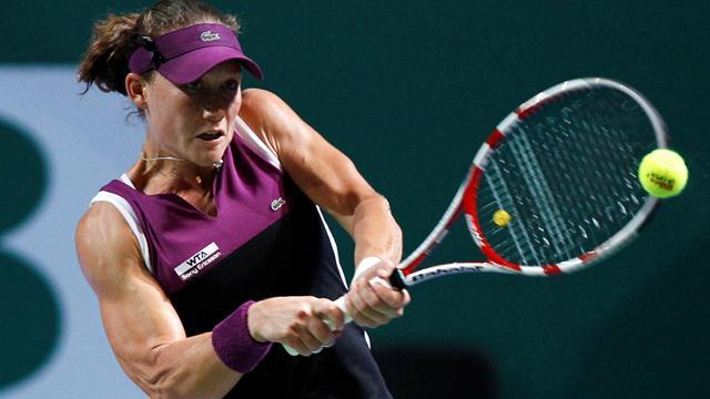 Tennis - Below-par Stosur dumped out in Hobart semis
