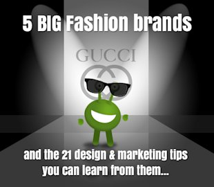 5 Big Fashion Brand Logos and the 21 Design & Marketing Tips You Can Learn From Them image fashion brands