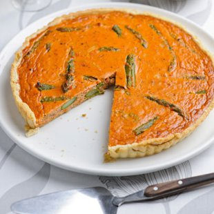 Asparagus and Crab Tart: Recipes