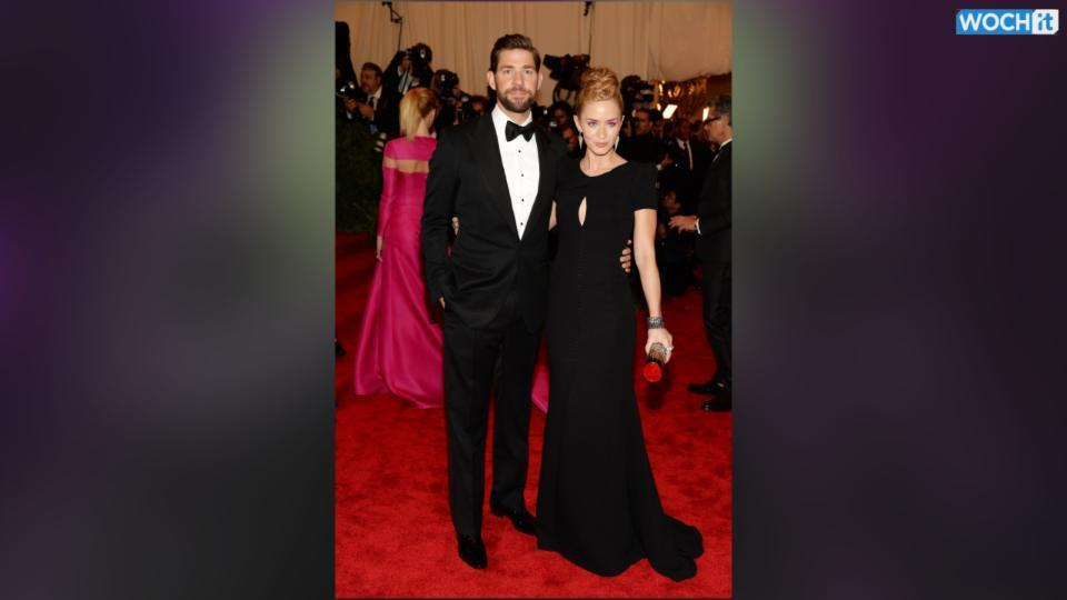 John Krasinski And Emily Blunt Welcome Baby Girl