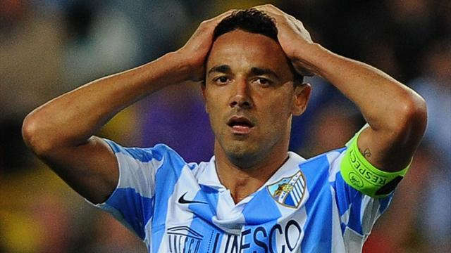 Champions League - Malaga satisfaction tempered by suspensions