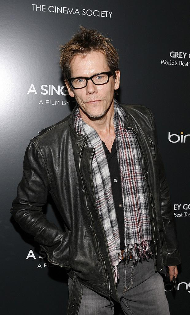 A Single Man NY Screening 2009 Kevin Bacon