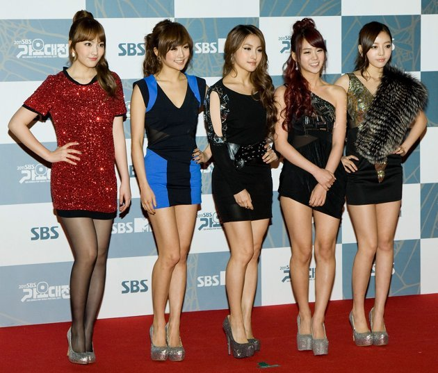 Sexy Korean girl group Kara now have their own perfume K5J (Getty Images)