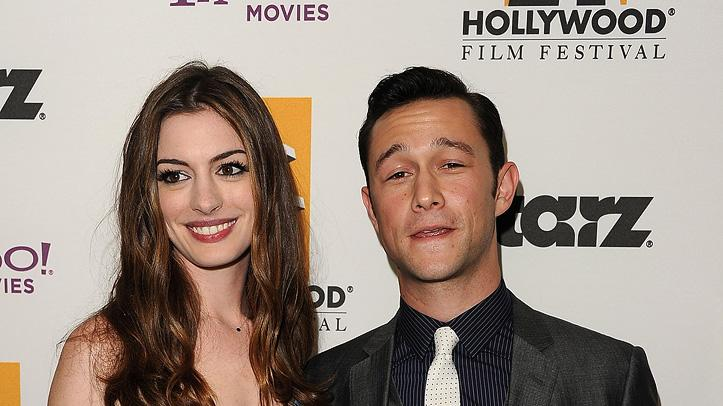 2011 Hollywood Film Awards Anne Hathaway Joseph Gordon Levitt