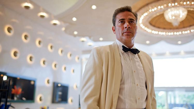 "Jeffrey Dean Morgan stars as Ike Evans in ""Magic City."""